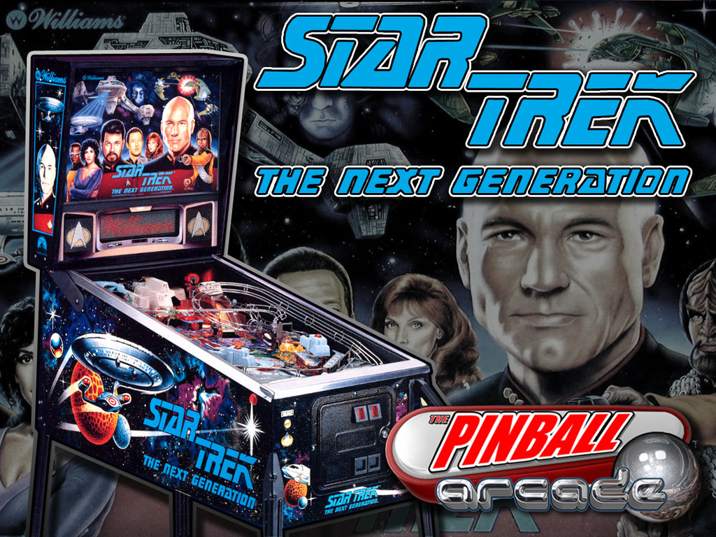 Pinball Arcade: Star Trek The Next Generation's video poster
