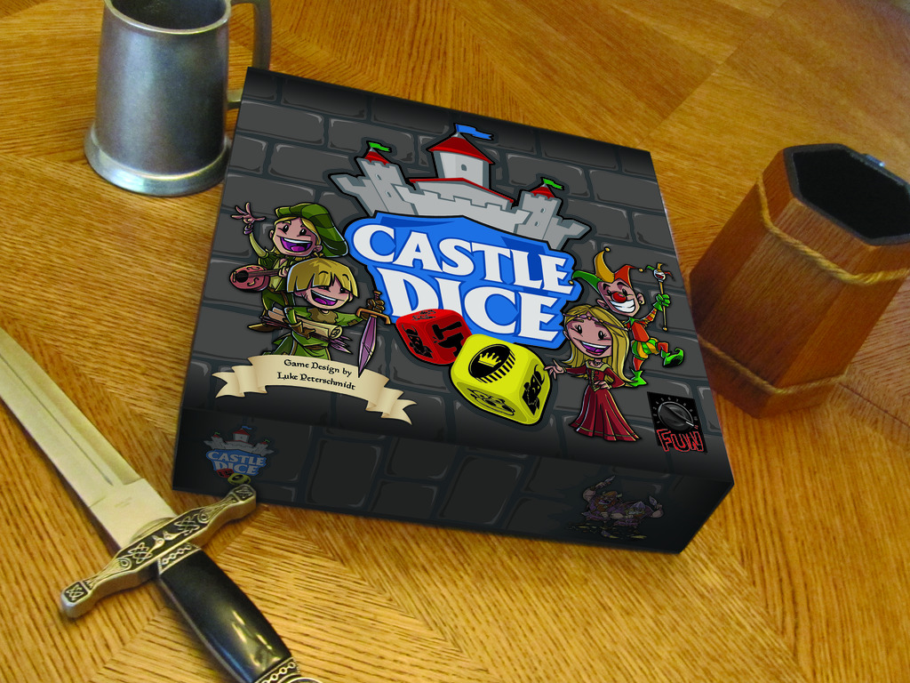 Castle Dice: The Dice Drafting, Worker Placement BigBox Game's video poster