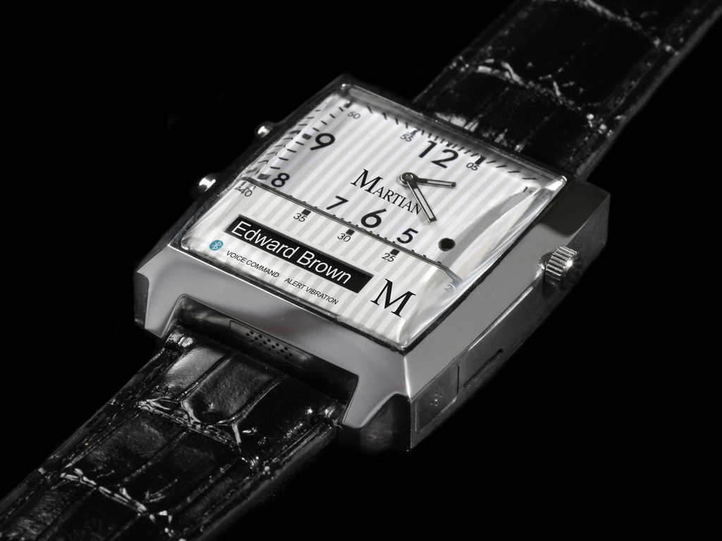 MARTIAN – Voice Command Watches for iPhone & Android's video poster
