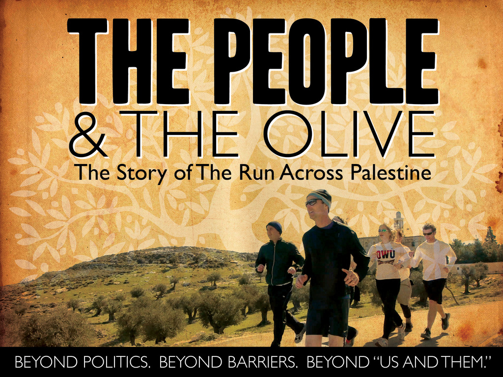 """""""The People and The Olive"""" Feature-length Documentary's video poster"""
