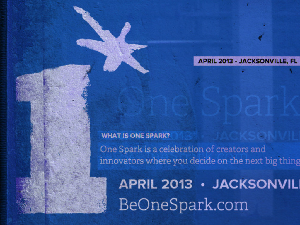 One Spark 2013's video poster