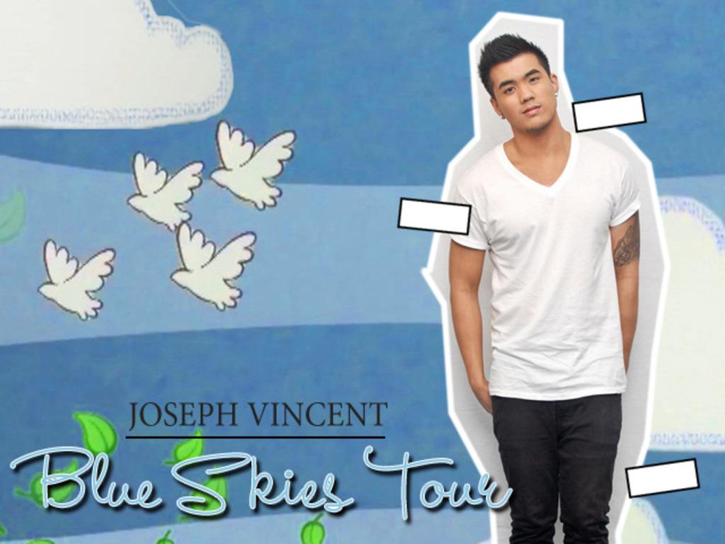 """Joseph Vincent's """"Blue Skies Tour""""'s video poster"""