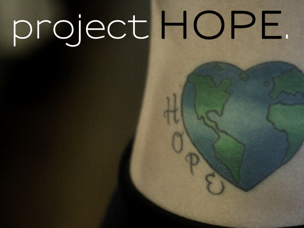 project HOPE.'s video poster