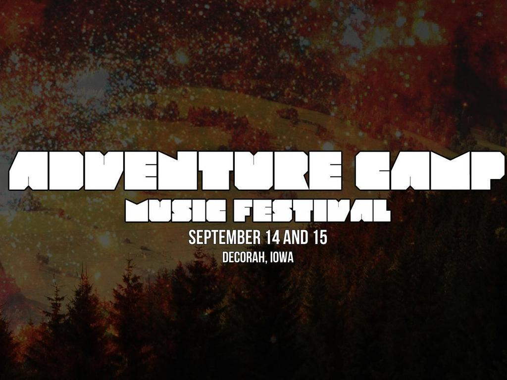 Adventure Camp Music Festival's video poster