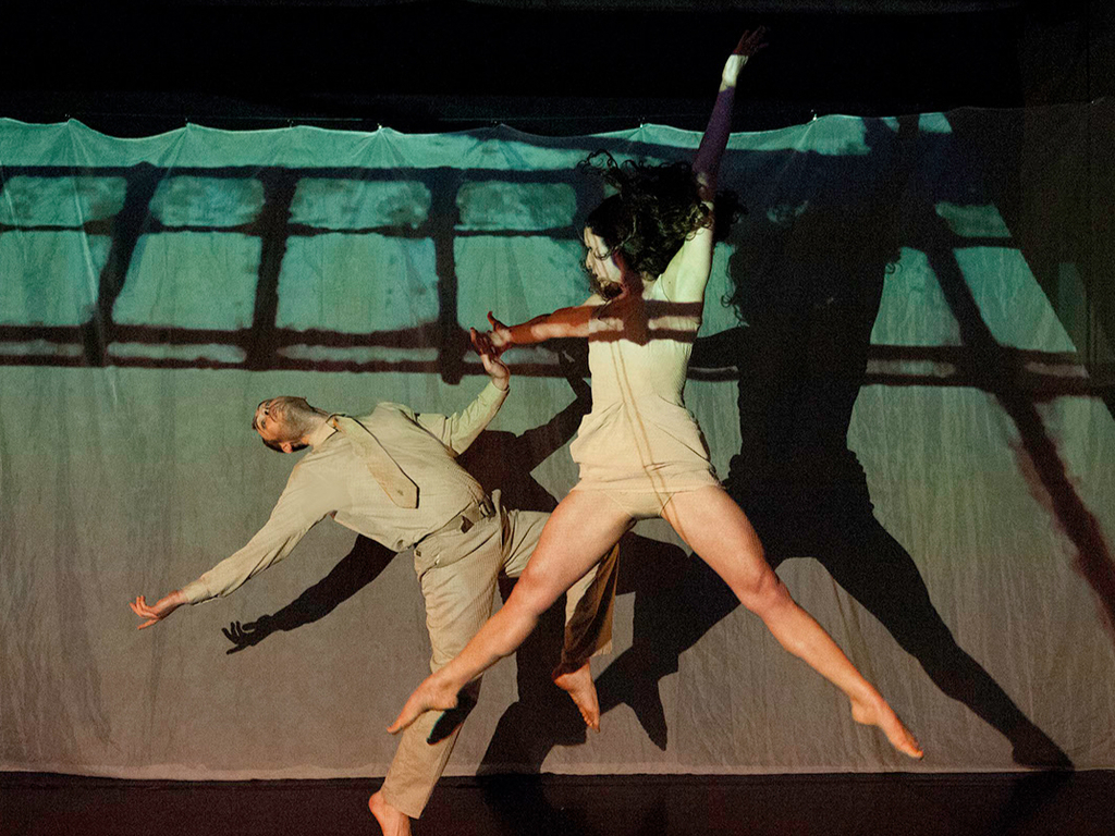 Deconstructing the Surrogate: A multimedia dance performance's video poster