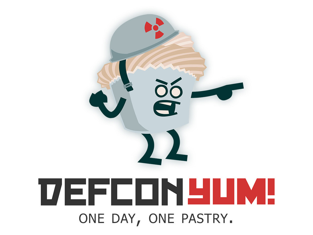 Defcon YUM! - The first one-a-day gourmet internet bakery's video poster
