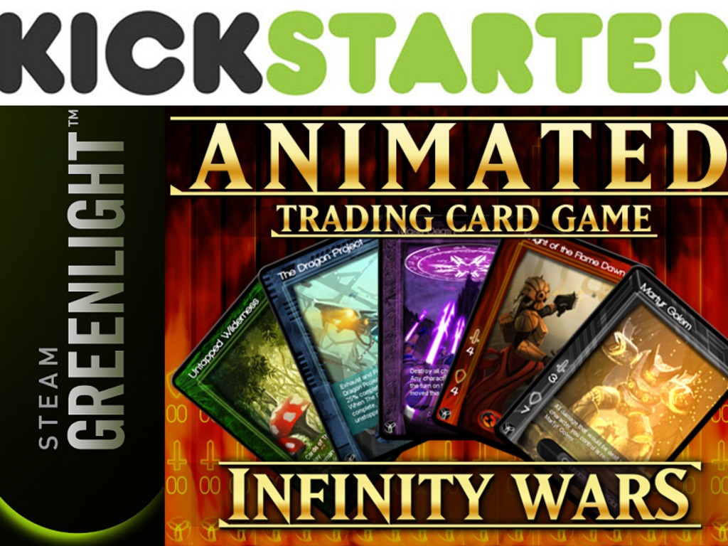 Infinity Wars - *Animated* Trading Card Game's video poster