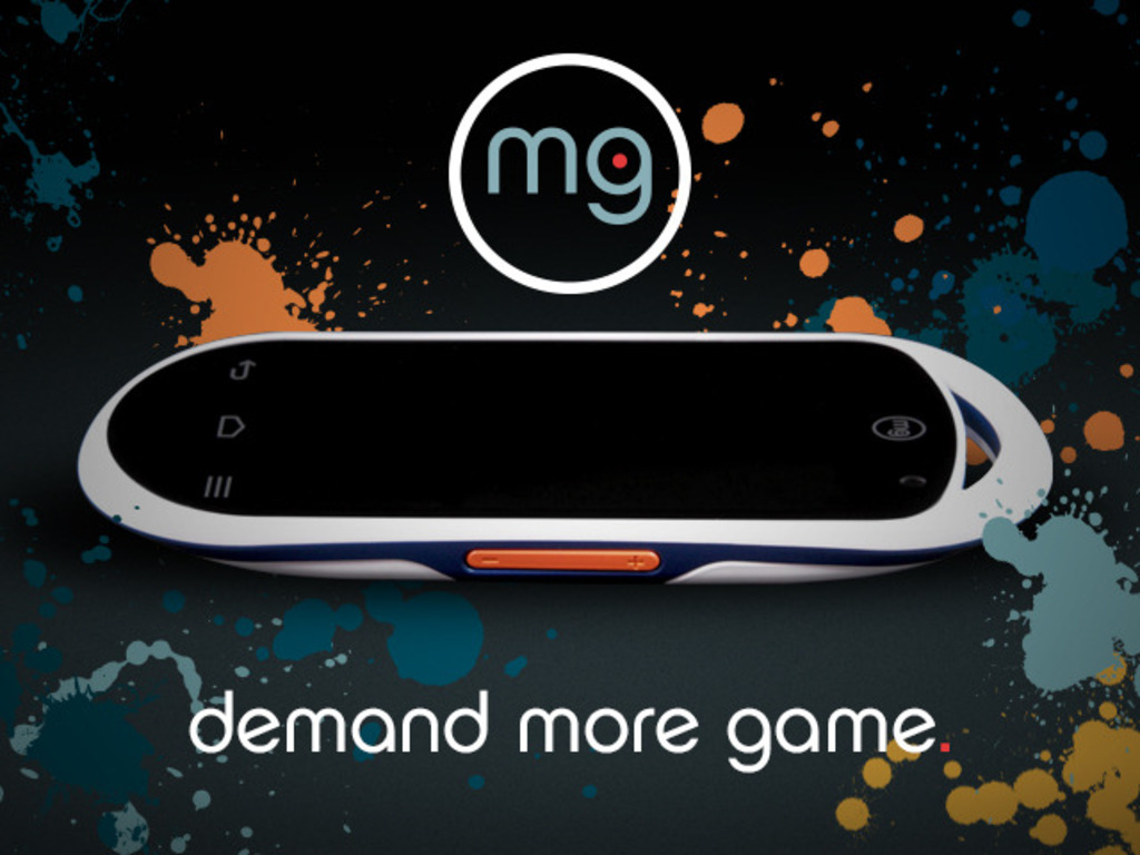 MG:  First Portable Gaming System for the Android Market's video poster