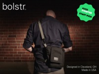 bolstr - The Ultimate EDC Bag. Minimal and Perfectly Sized.