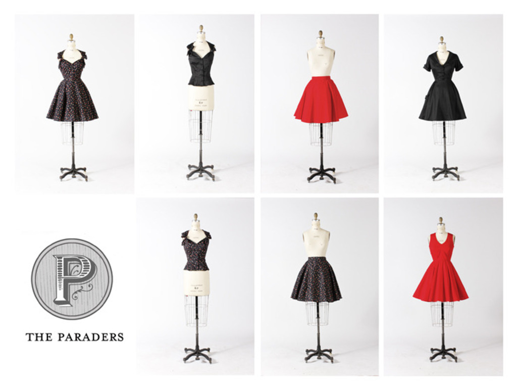A New Spin On Vintage : The Paraders 2012 Collection's video poster
