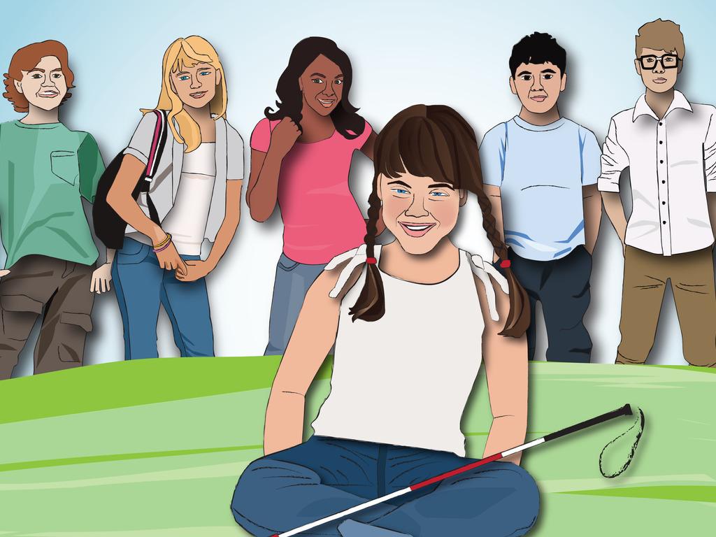 Abby Diamond- Blind Girl Detective Cartoon's video poster