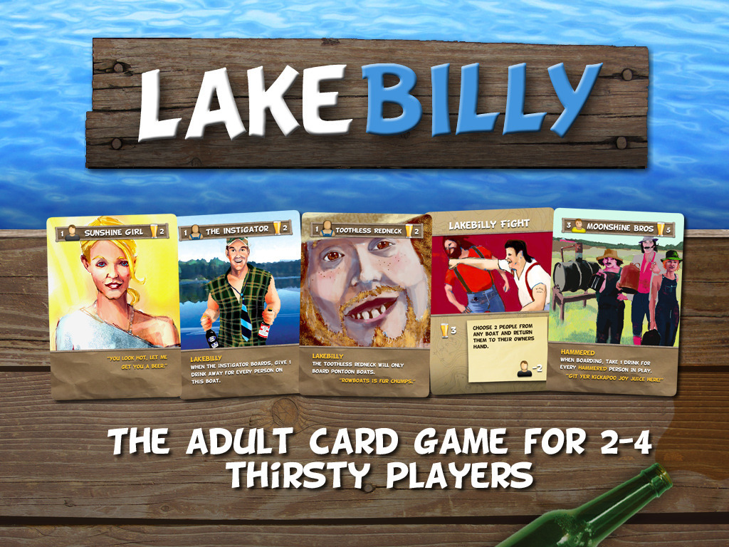 Lakebilly: The adult card game for 2-4 thirsty players.'s video poster
