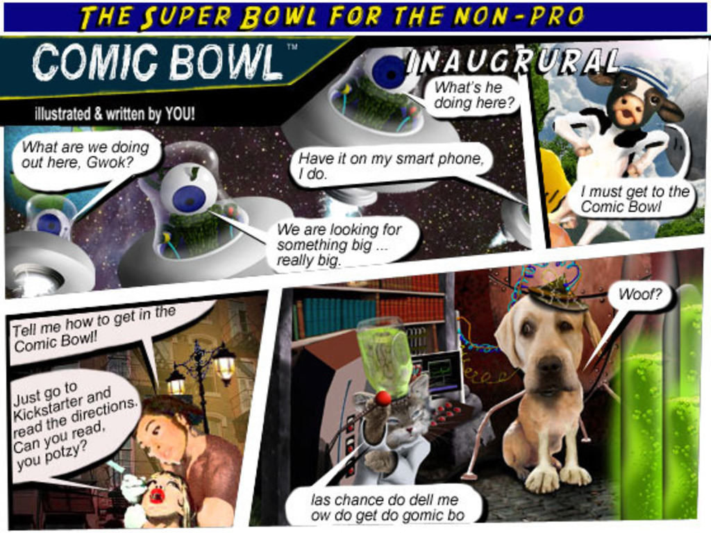 The Ultimate Comic Anthology!  by Comic Bowl & YOU !'s video poster