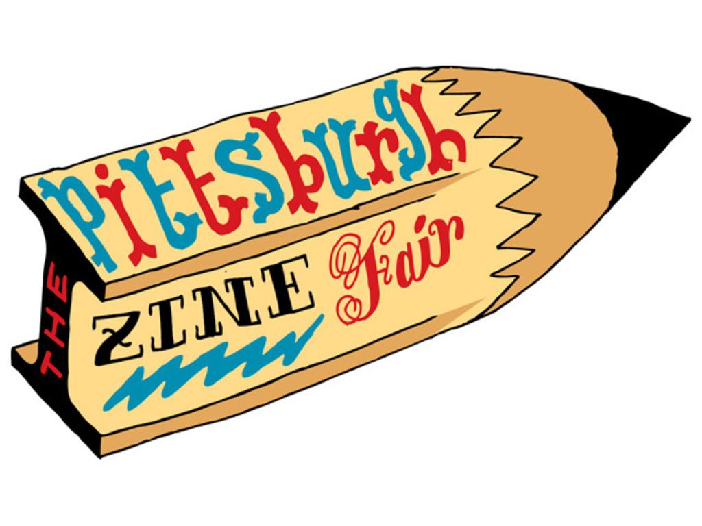Pittsburgh Zine Fair's video poster