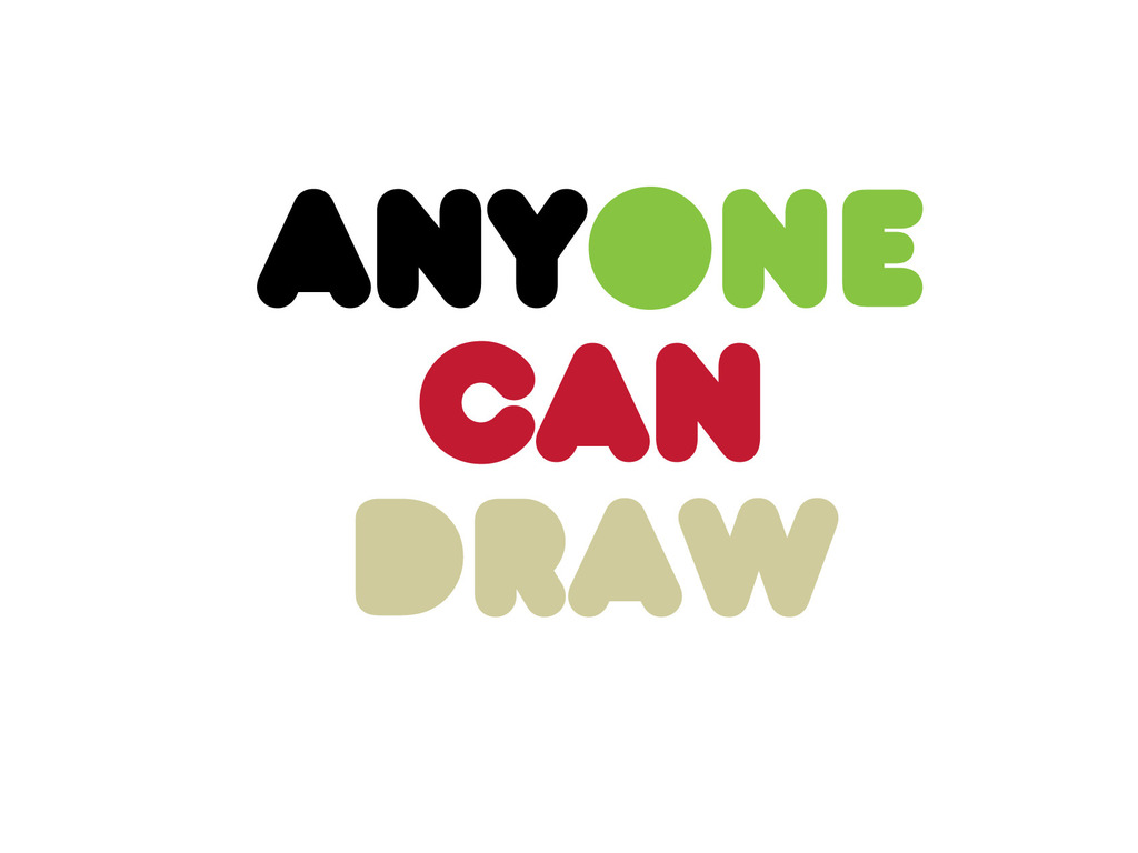Anyone Can Draw's video poster