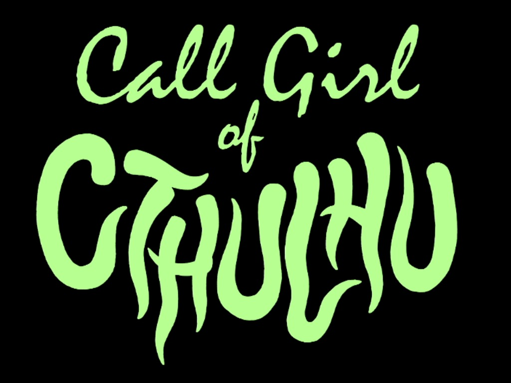 """""""Call Girl of Cthulhu""""- a Lovecraft-inspired horror feature's video poster"""