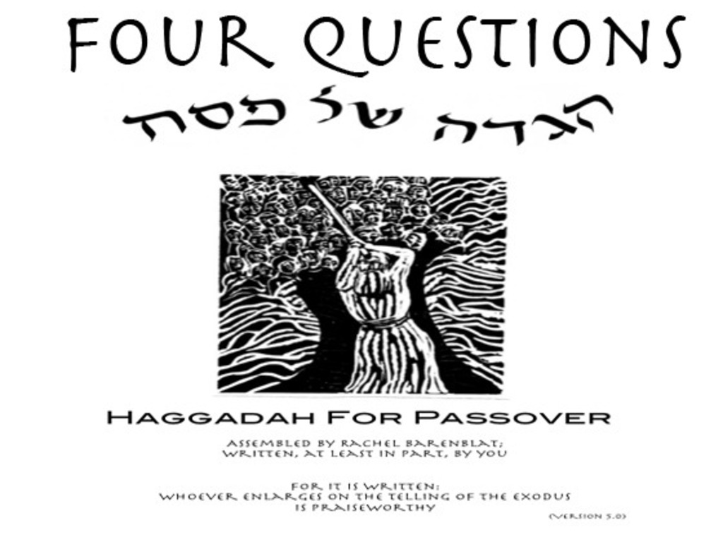 'Four Questions' A Short Film's video poster