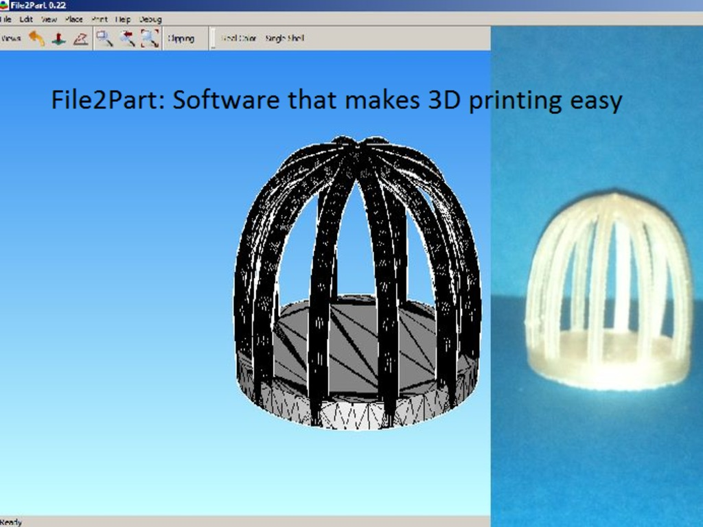 File2Part: Software that makes 3D printing easy's video poster