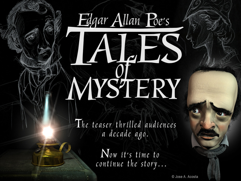Edgar Allan Poe's Tales of Mystery's video poster