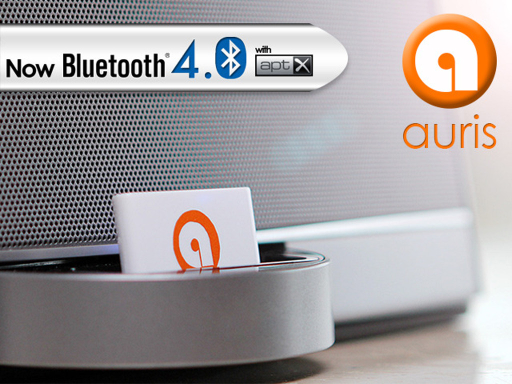 auris: Bluetooth® for your Dock's video poster
