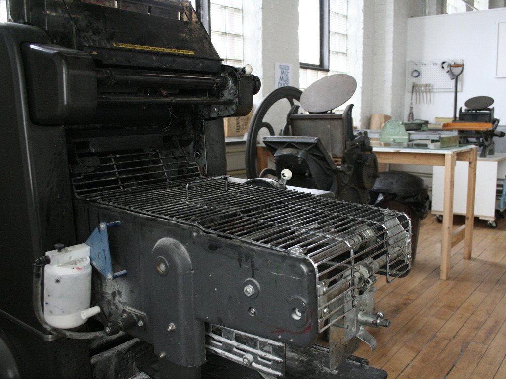 Launch Letterpress & Offset Printing at Community Printshop's video poster