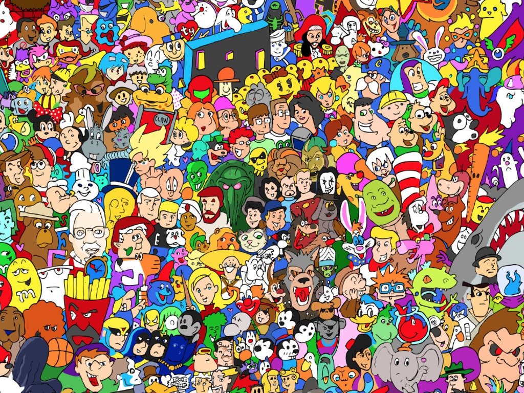 The Entire Cartoon Universe's video poster