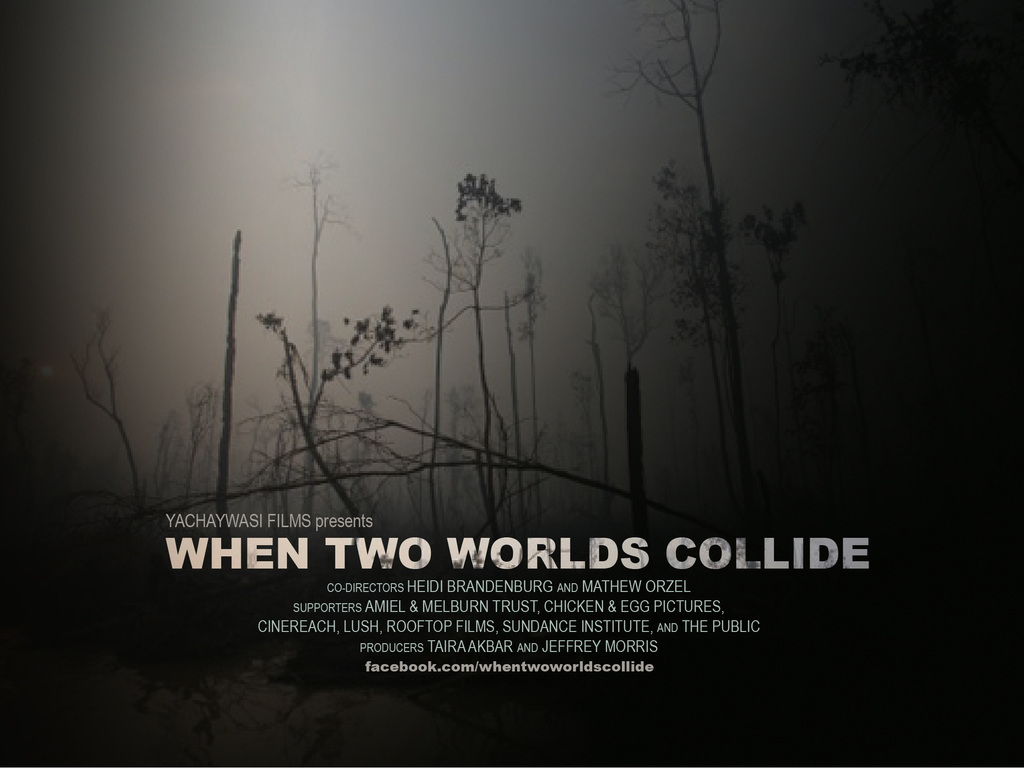 When Two Worlds Collide's video poster