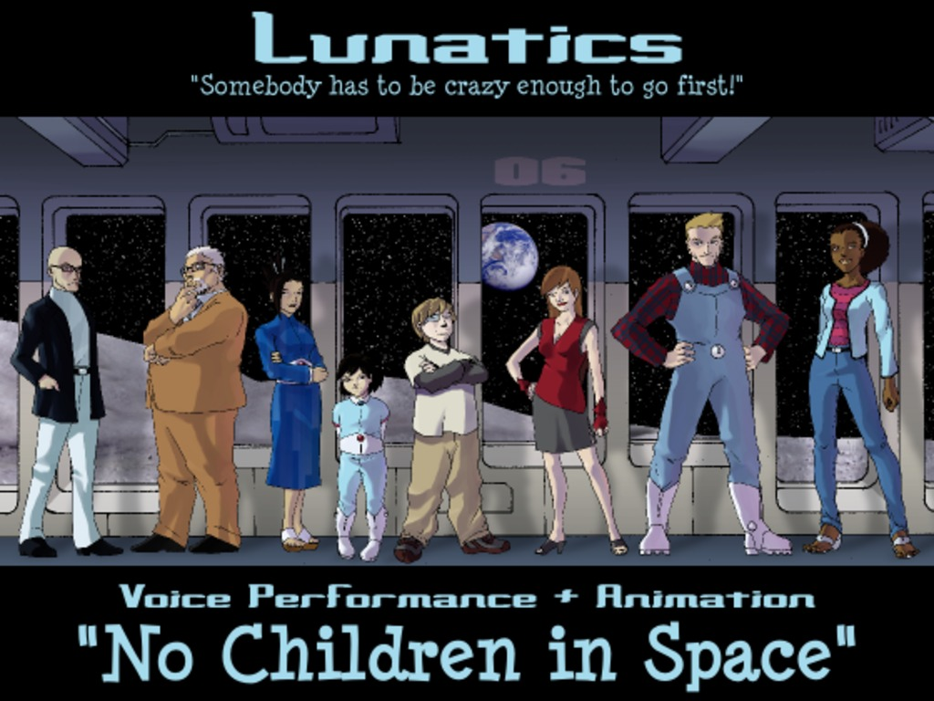 """Lunatics"" - Pilot Episode - Voice Drama and Animatic's video poster"