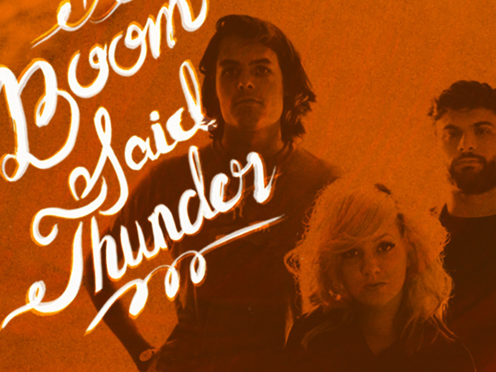 Making a Fuzzed-Out Rock Record with Boom Said Thunder's video poster