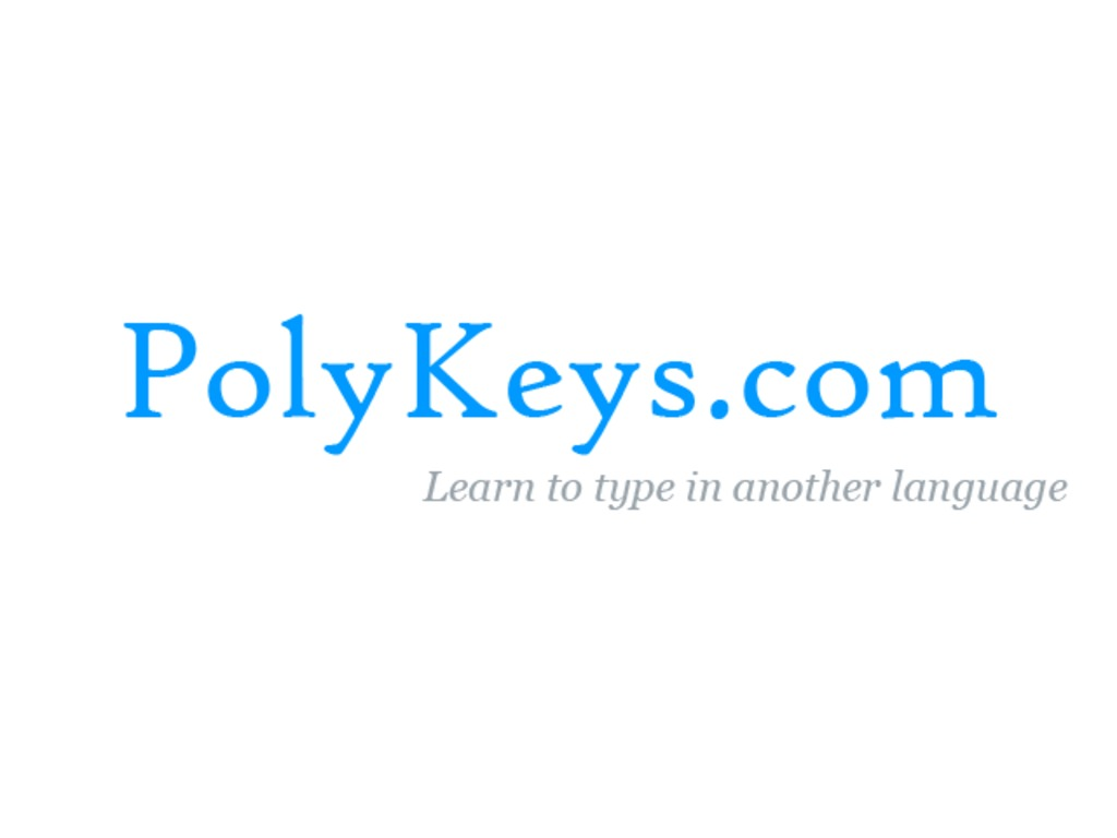 PolyKeys.com - Learn to type in another language's video poster