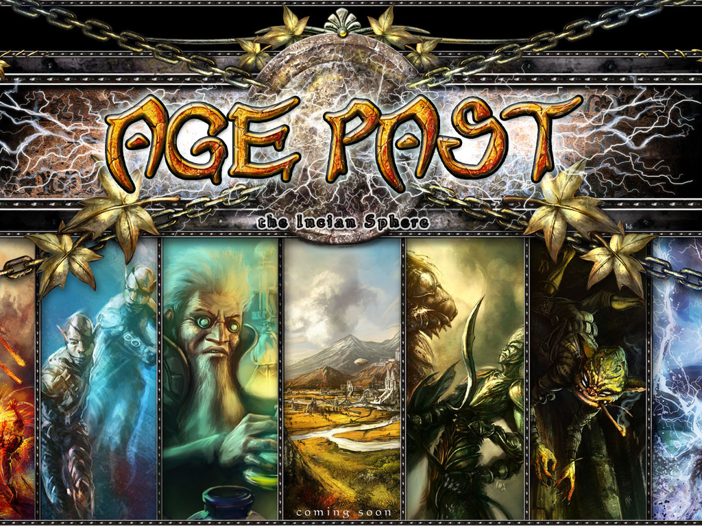 Age Past:  Main Role Playing Game Rulebook's video poster