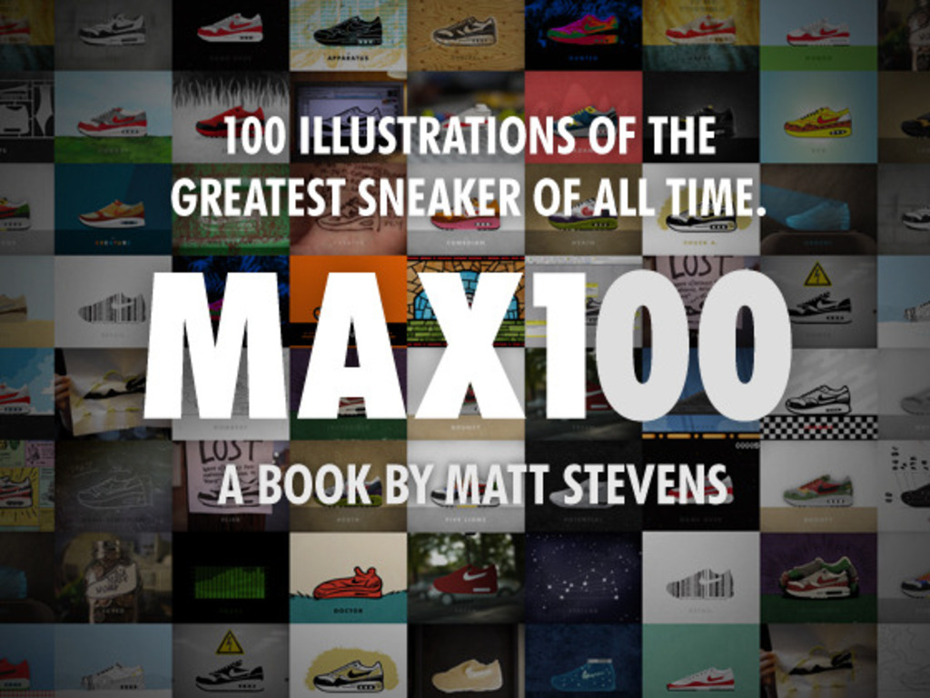 MAX100: The Book Project's video poster