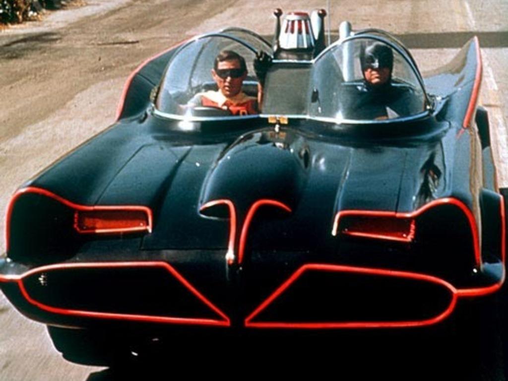 Build the TV Batmobile's video poster