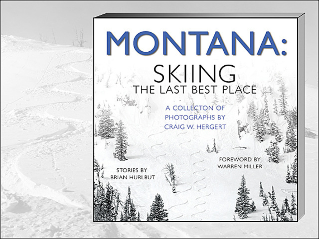 """""""MONTANA: SKIING THE LAST BEST PLACE"""" HARDCOVER PHOTO BOOK's video poster"""