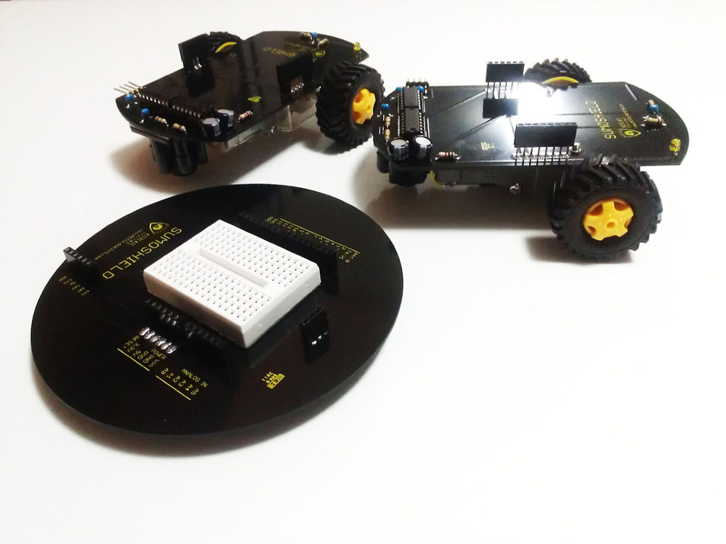 SumoShield for Arduino / Netduino (pin compatible for both)'s video poster