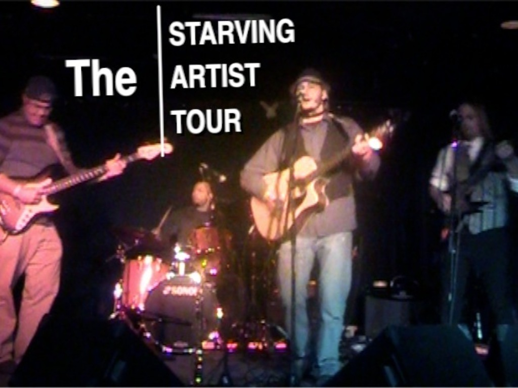 The Starving Artist Tour's video poster