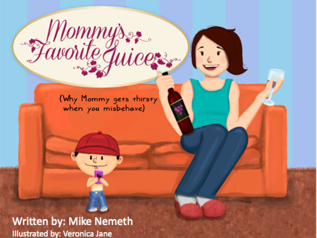Mommy's Favorite Juice - a children's book about wine!'s video poster