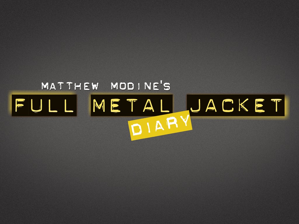 "Matthew Modine's ""Full Metal Jacket Diary"" - iPad App's video poster"