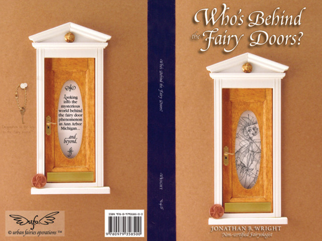Who 39 s behind the fairy doors revised edition by for Real fairy doors