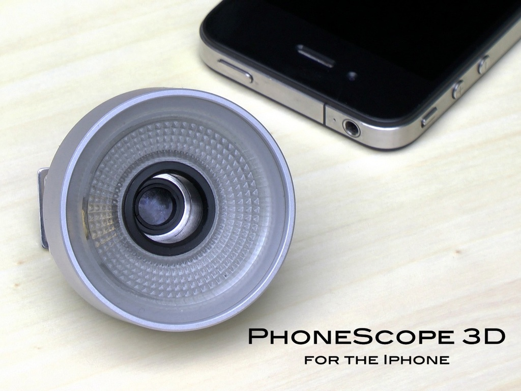 PhoneScope 3D for the iPhone (Canceled)'s video poster