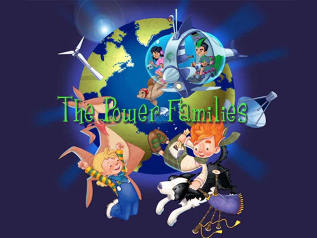 'The Power Families' Clean Energy Kids' Books Project's video poster
