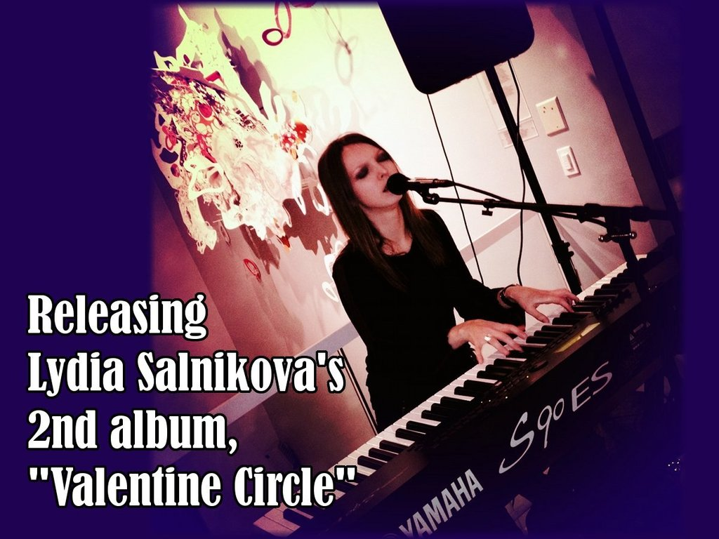 """Releasing my 2nd album, """"Valentine Circle""""'s video poster"""