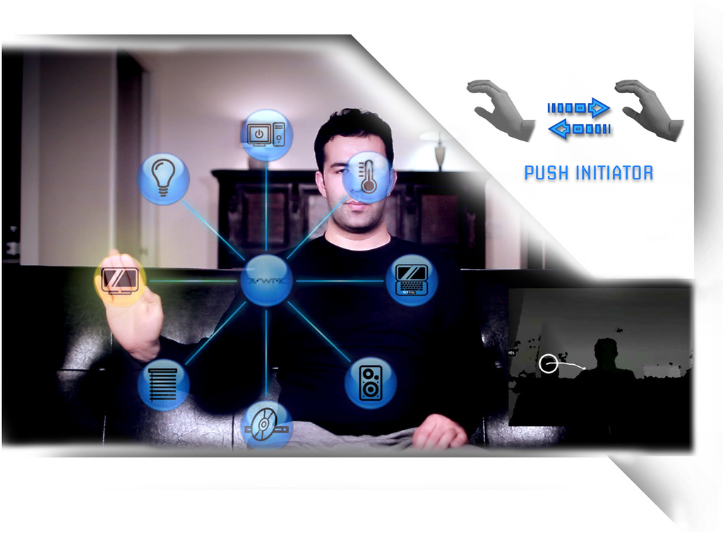 Flowton Technologies: Control your home with gestures+voice's video poster