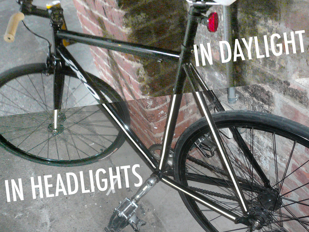 Bright Bike DIY Kits: night visibility for safer riding's video poster