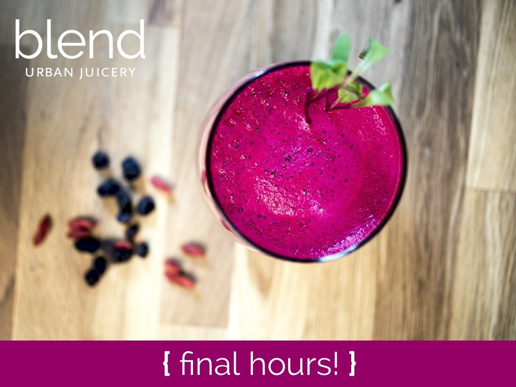 Blend | Urban Juicery's video poster