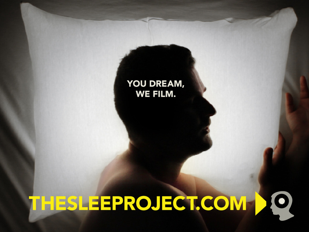 The Sleep Project's video poster