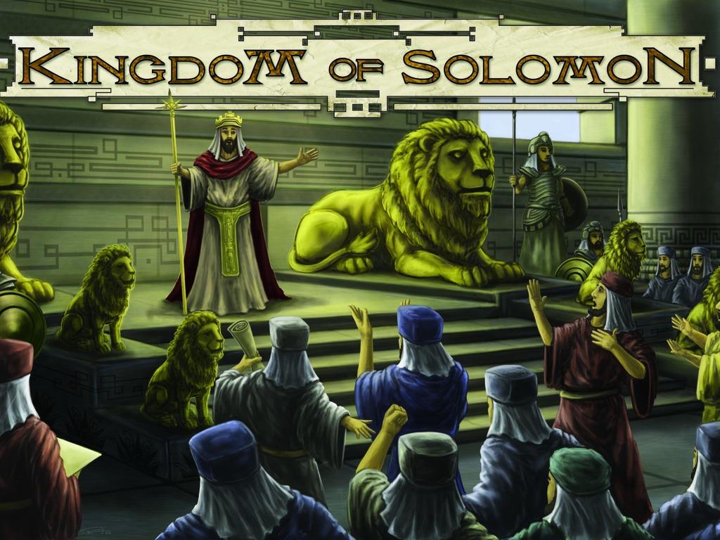 Kingdom of Solomon - Euro Style Board Game's video poster