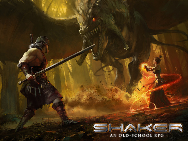 Shaker - An Old School RPG by Brenda Brathwaite and Tom Hall!