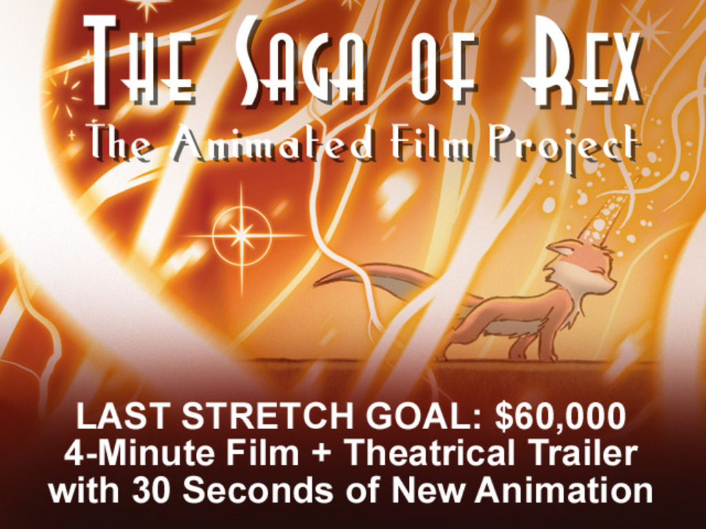 The Saga of Rex: The Animated Film Project's video poster