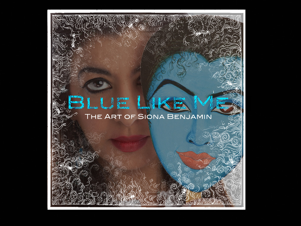 Blue Like Me: The Art of Siona Benjamin's video poster